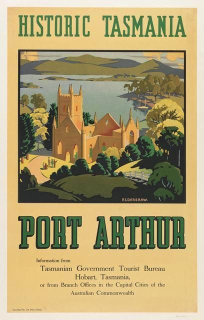 Port Arthur c.1937 by John Eldershaw.