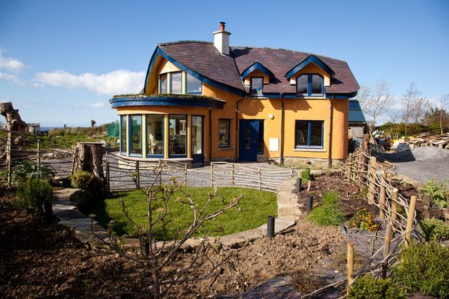 Very nice cob houses