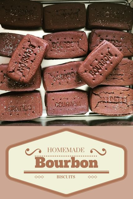 Mrs Bishop's Bakes and Banter: Homemade Bourbon Biscuits *RECIPE*