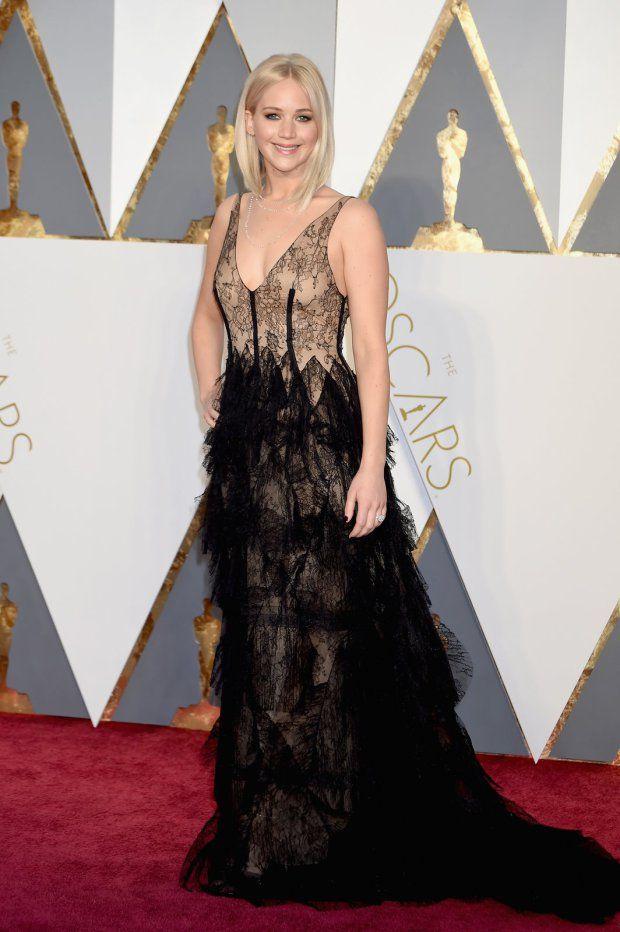 Jennifer Lawrence - Oscar 2016 | Blog Helena Mattos