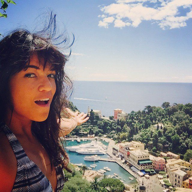 Pin for Later: These Makeup-Free Celebrity Selfies Will Inspire You to Bare It All Michelle Rodriguez Makeup isn't really on the Fast and Furious's star daily to-do list. Bikinis and beaches are.