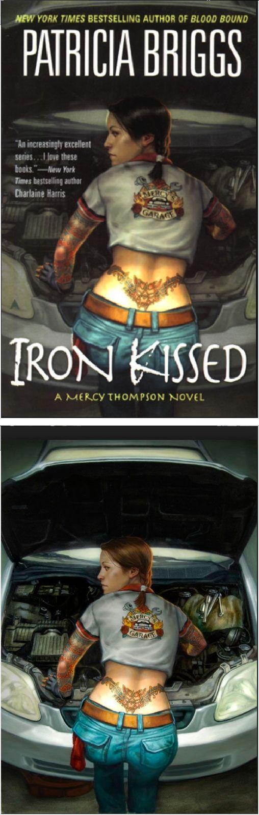 Daniel Dos Santos  Iron Kissed (mercy Thompson 3) By Patricia Briggs  2008
