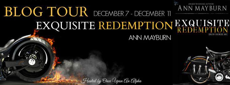 Renee Entress's Blog: [Blog Tour] Exquisite Redemption by Ann Mayburn