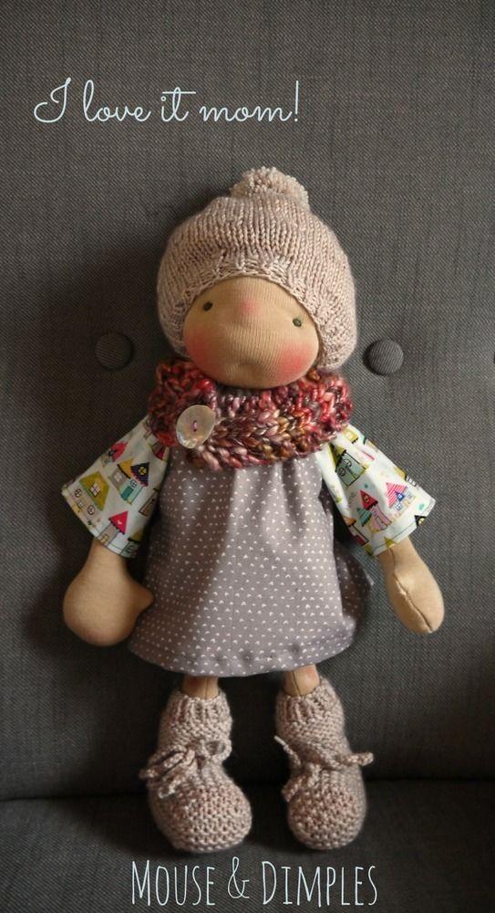69 best куклы 5 images on Pinterest   Waldorf dolls, Fabric dolls ...