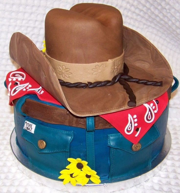 1000+ Ideas About Cowboy Hat Cake On Pinterest