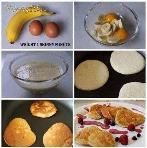 Sposób na pyszne placuszki z bananów!