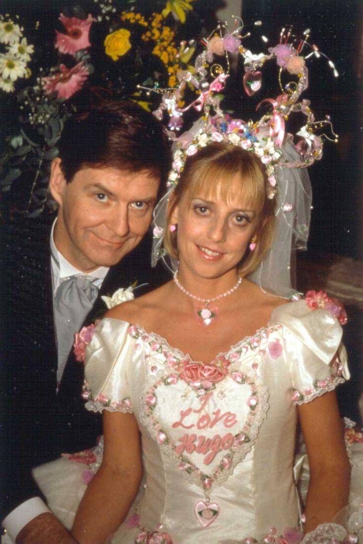 Alice Tinker Wedding To Hugo Horton On Vicar Of Dibley Love Her Head Piece D