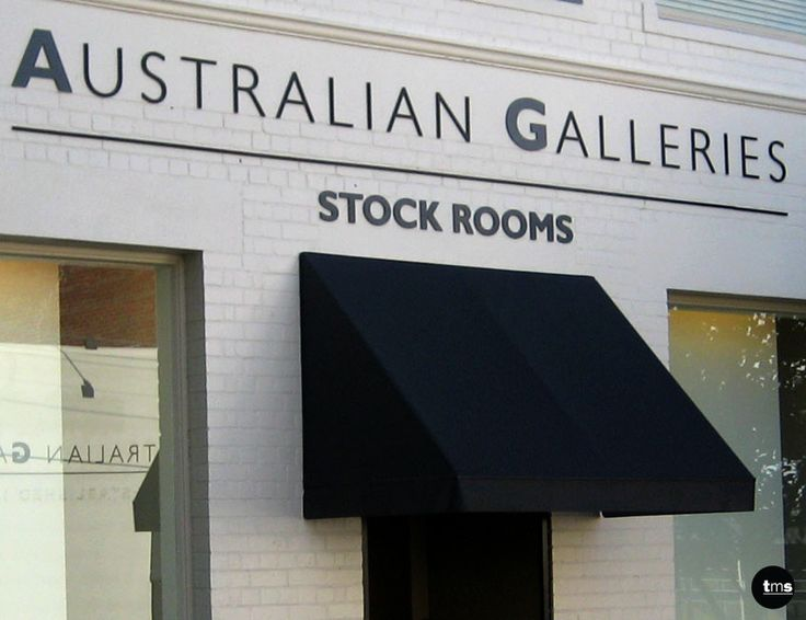 External Building ID, 3D Logos and Letters, Australian Galleries