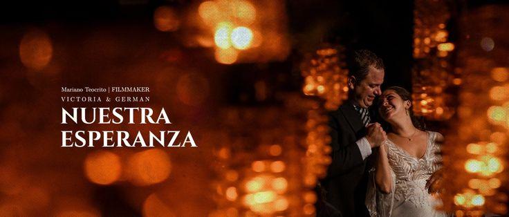 Un honor para mi ser el encargado de documentar la boda de Victoria y Germán. Les comparto esta bella historia.  Nuestra Esperanza. www.mteocrito.com