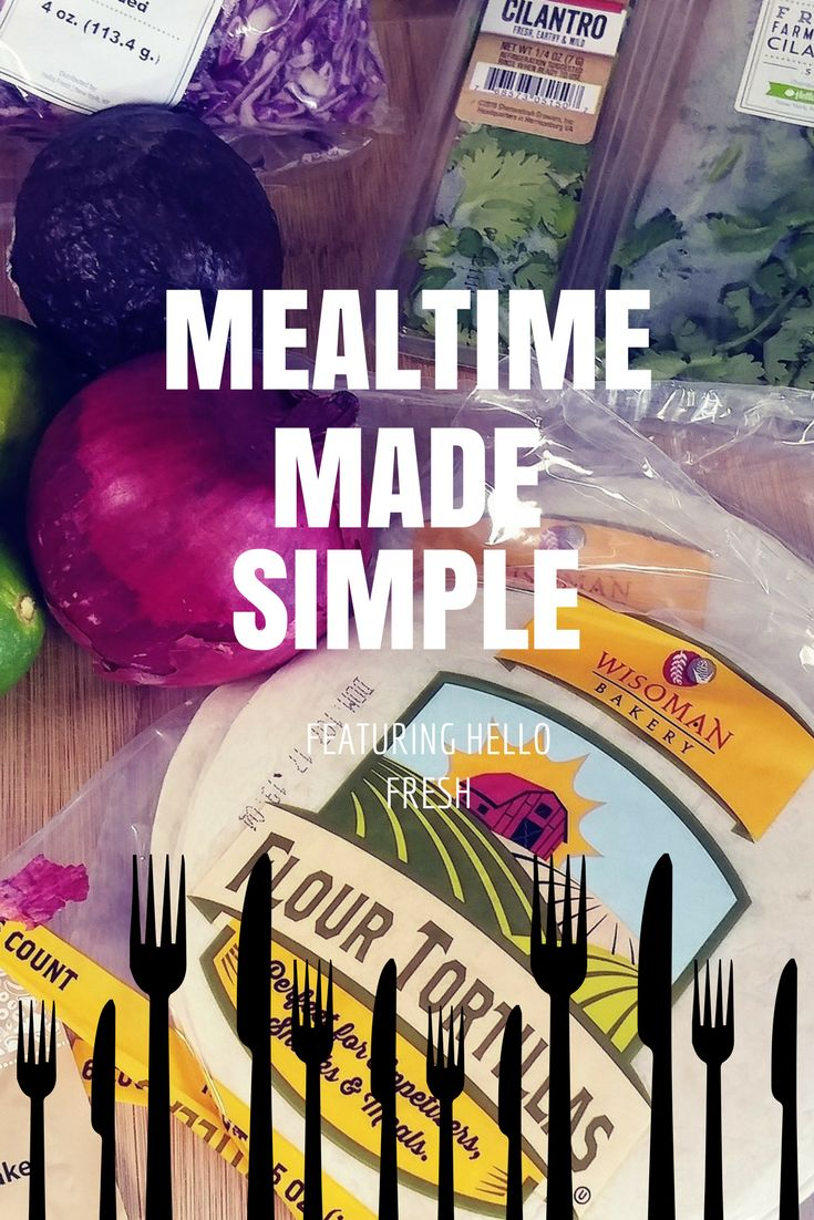 make mealtime simple with Hello Fresh and save $30 off of your first box!