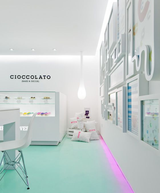 Cioccolato, MexicoInterior Design, Chocolates Shops, Ice Cream Shops Interiors, Design Interiors, Architecture Interiors, Hotels Interiors, Stores Interiors, Restaurants Interiors Design, White Wall