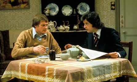 Rodney Bewes, right, with James Bolam in Whatever Happened to the Likely Lads?