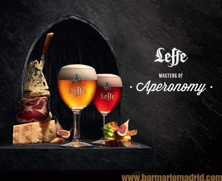 Cerveza Leffe disponible en nuestra carta