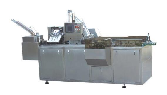 Tissue carton packaging machine