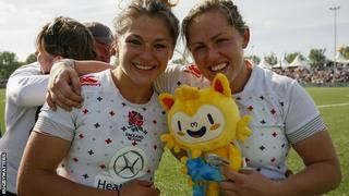 World Rugby Sevens: England women seal GB's Olympic place