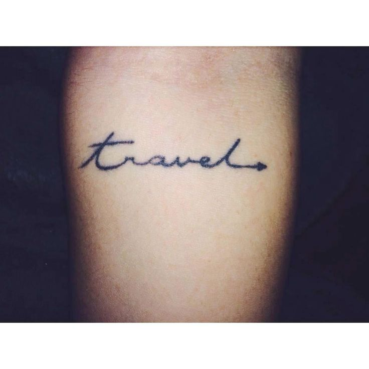travel tattoo, I Love Africa, your personal travel planner - www.ilove-Africa.com