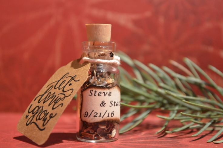 25 Wildflower seed wedding favor bottle customized.  Unique rustic wedding favor. by attic209 on Etsy https://www.etsy.com/listing/483258938/25-wildflower-seed-wedding-favor-bottle
