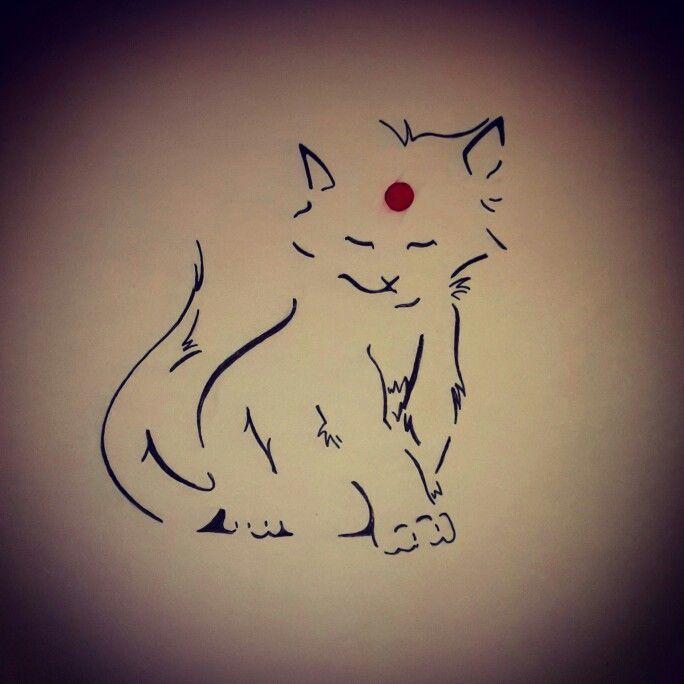 Estampe cat