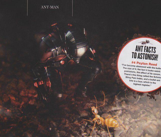 Homem-Formiga | Novas fotos mostram o pequeno Jaqueta Amarela e Darren Cross | Omelete