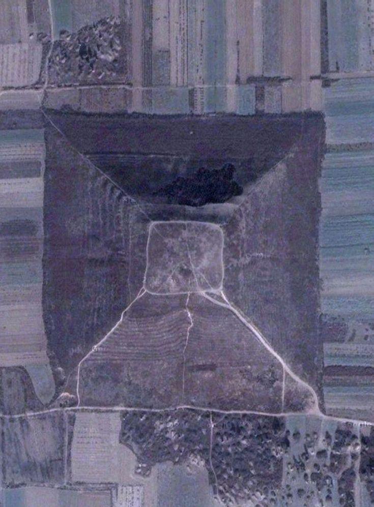 Pyramid #15 Pyramids of China - Area Two Hsein-Yang Region Yan Ling Mausoleum - Wei Ling Mausoleum