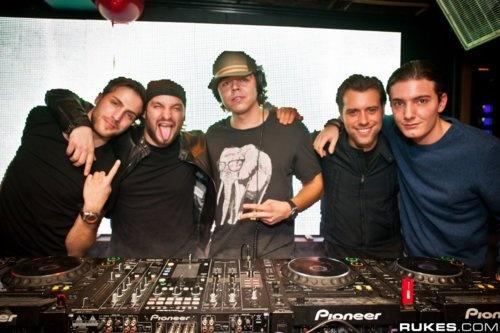 AN21, Steve Angello, Max Vangeli, Sebastian Ingrosso, Alesso
