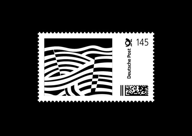 Retrospektive Heinz Beier – Stamps - History of earth (Städtisches Museum Bielefeld, 1960)