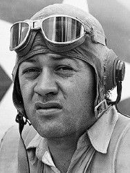 "Valor awards for Maj Gregory ""Pappy"" Boyington (1912-1988) USMC. Medal of Honor....in action against enemy Japanese forces in the Central Solomons Area from 12 september 1943 to 3 January 1944. Navy Cross for action in the New Britain Island Area on 3 January 1944. Prisoner of War Medal - held from 3 January 1944 to September 1945. He became a WW II Marine Corps ACE, credited with shooting down TWENTY-TWO enemy aircraft in aerial combat."