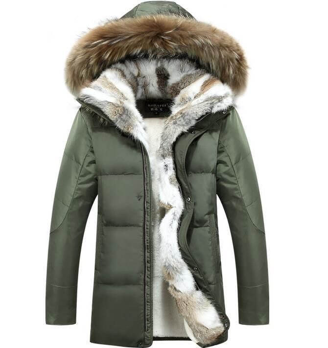 Winter Jacket Men Thick Warm Cotton Padded Fur Collar Hooded down Coats Parkas | Clothes, Shoes & Accessories, Men's Clothing, Coats & Jackets | eBay!