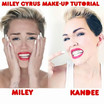 Miley Cyrus Wrecking Ball Video Make-Up Tutorial (even if you're not a Miley Fan, you might like this!)