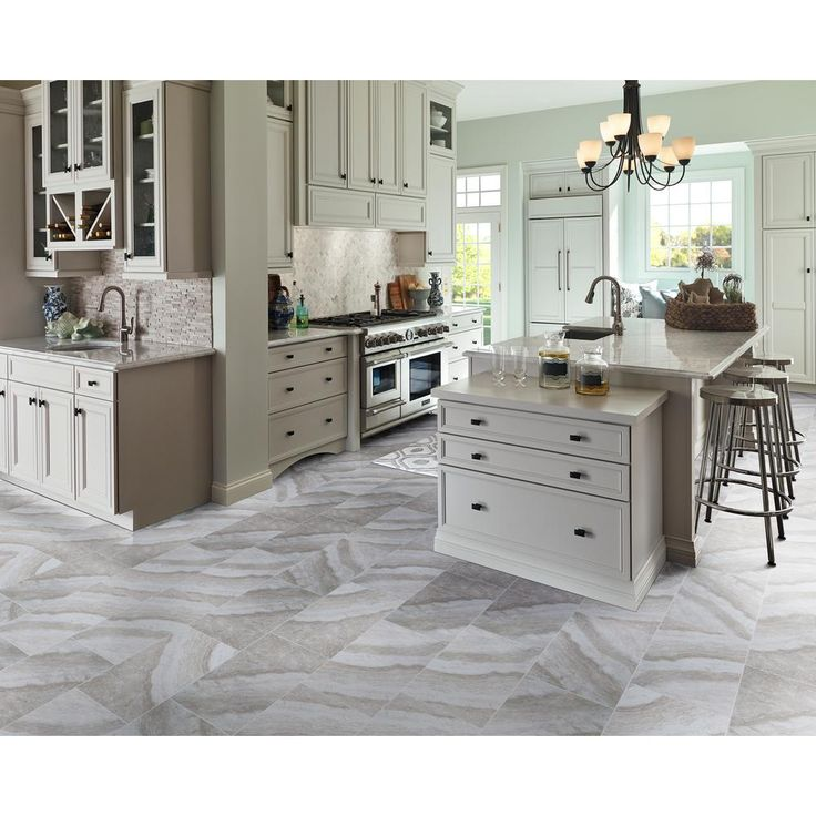 MS International Bergamo Gris 12 in. x 24 in. Glazed Ceramic Floor and Wall Tile (16 sq. ft. / case)-NHDBERGRI1224 - The Home Depot