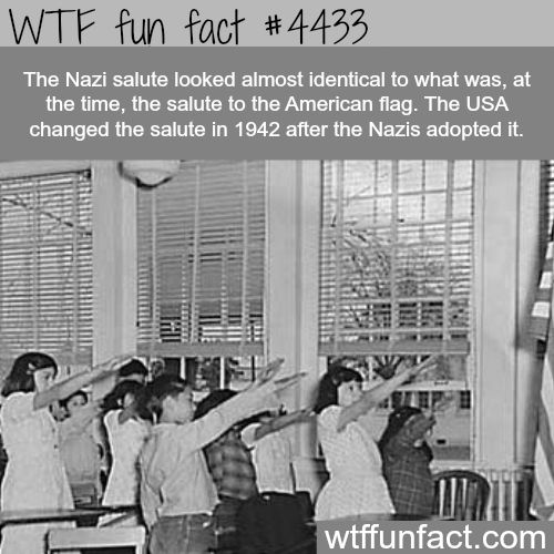 The Nazi salute - WTF fun facts