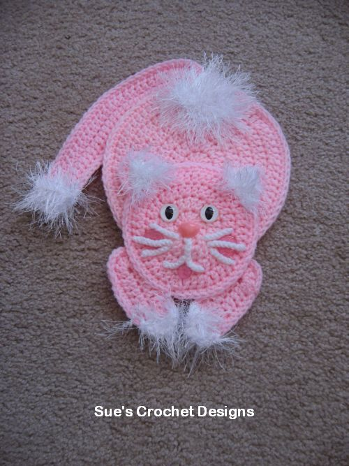 Aplicação de crochê para roupinhas de bebê