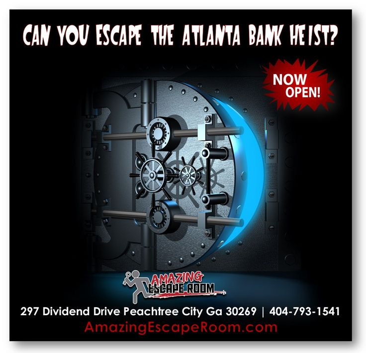20 Best Amazing Escape Room Peachtree City Images On