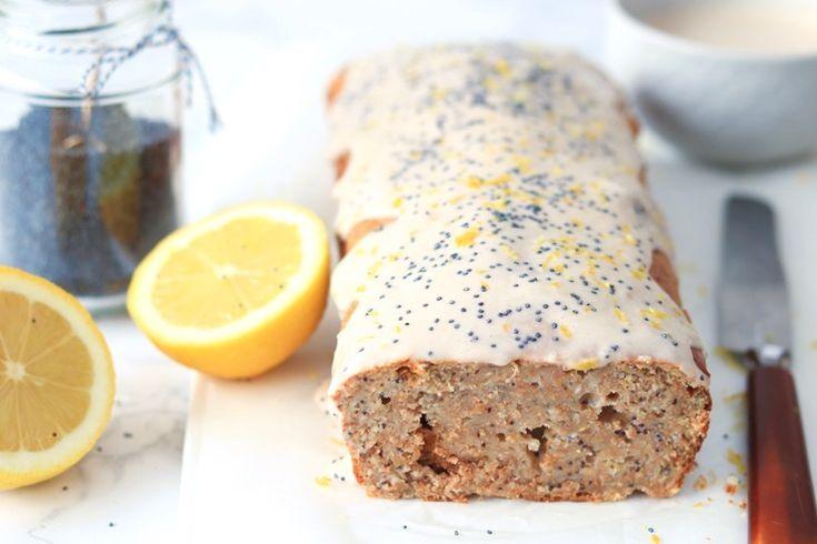 Gezondere cake met yoghurt en citroen