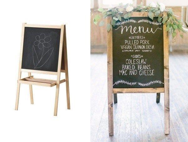Goede 7 IKEA hacks als goedkope bruiloft decoratie (met afbeeldingen IY-15
