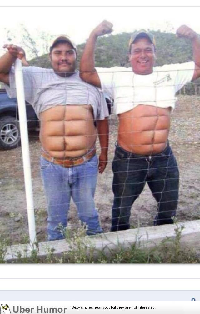 むっきむき! 6 pack like a boss