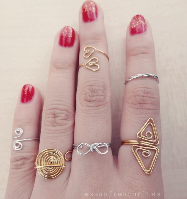 These Frescurites here: Special: DIY rings to inspire