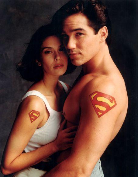 "Dean Cain & Teri Hatcher, ""lois & clark: the new adventures of superman"""
