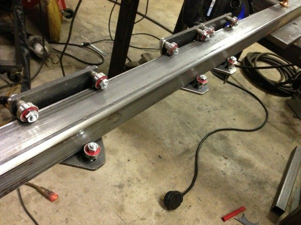 Linear Bearing For Square Tube