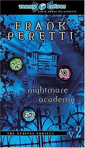 Nightmare Academy by Frank Peretti  read this book!  its sooo cool!!!!! i read it in like 2 days  i luved it that much!!!! its not so much scary as it is suspenceful and creepy. this book makes u think