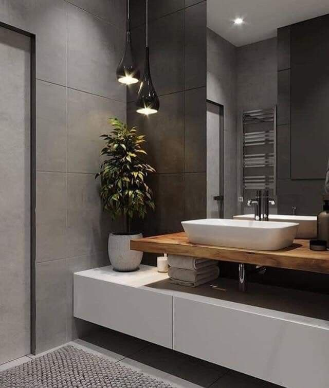 Pin By Wohnideen News On Badezimmer Ideen Tipps Loft Design Bedroom Bathroom Interior Bathroom Design Luxury