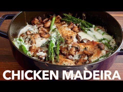 Creamy Chicken Madeira - (Cheesecake Factory Copycat Recipe) - YouTube