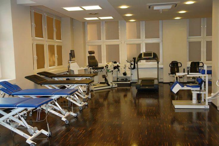 Wyposażenie Centrum Rehabilitacji Czamara.