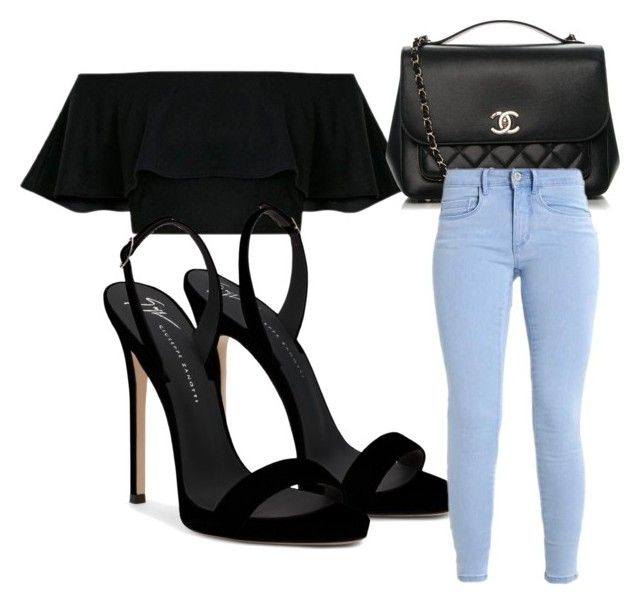 """""""day out"""" by izzyfifteen on Polyvore featuring Giuseppe Zanotti and Chanel"""