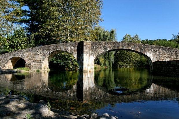 Le Pont romain d'Ascain