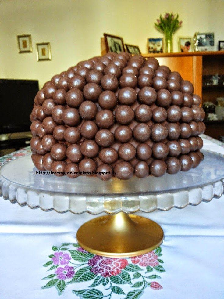 LE TORTE DI LORENA ....E NON SOLO!!!!!: Torta con praline di cioccolato