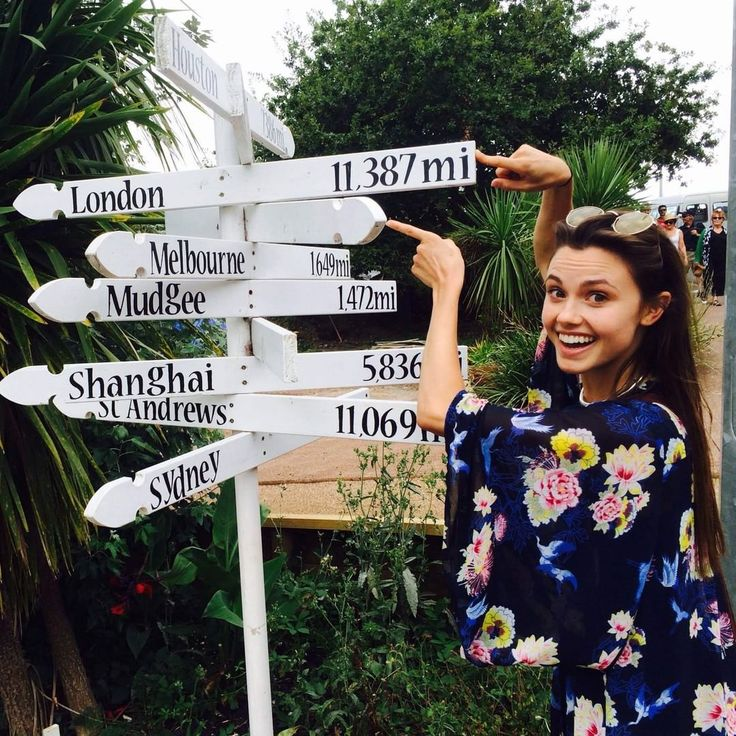 """""""Hey guys! It's Poppy. I'll be taking over this Instagram account for a bit with some BTS pics. 11, 387 miles from home but #Shannara keeps me smiling."""""""