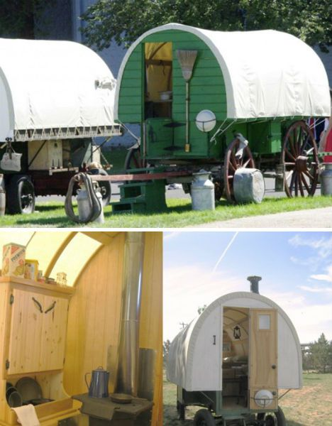 Basque sheep wagon i want one a few of my favorite things pinterest i want sheep - The mobile shepherds wagon ...