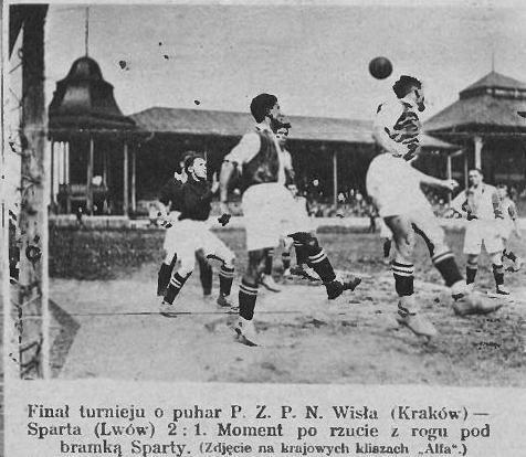 5 września 1926 w finale z lwowską Spartą 2:1 Wisła zdobywa po raz pierwszy  Puchar Polski!!! http://historiawisly.pl/wiki/index.php?title=1926.09.05_Wis%C5%82a_Krak%C3%B3w_%E2%80%93_Sparta_Lw%C3%B3w_2:1…