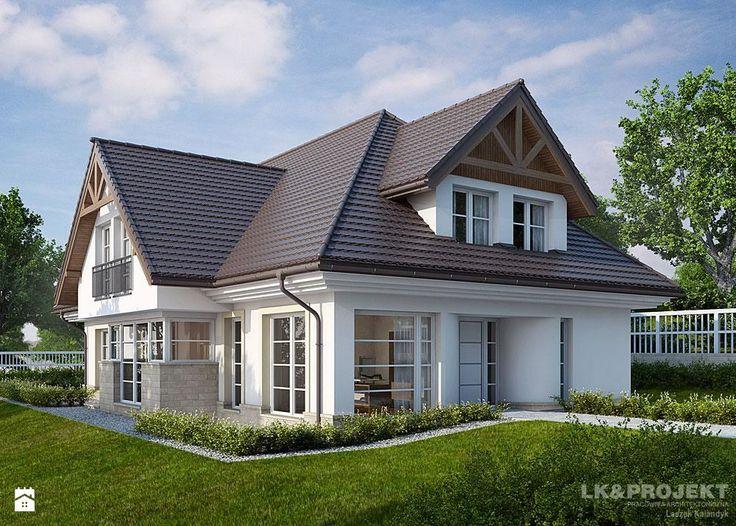 LK&1152 - Domy - Styl Tradycyjny - LK&Projekt #domy #tradycyjne #LKProjekt